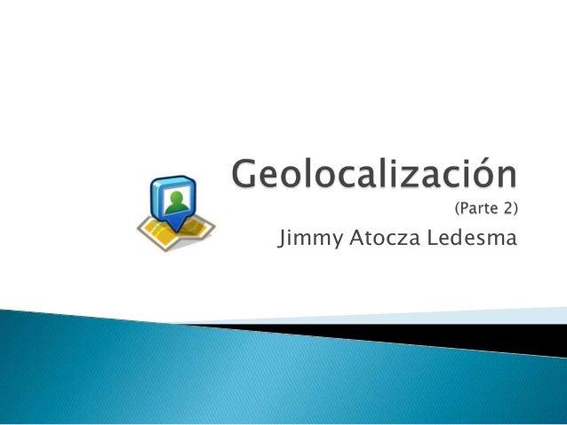 Jimmy Atocza Ledesma