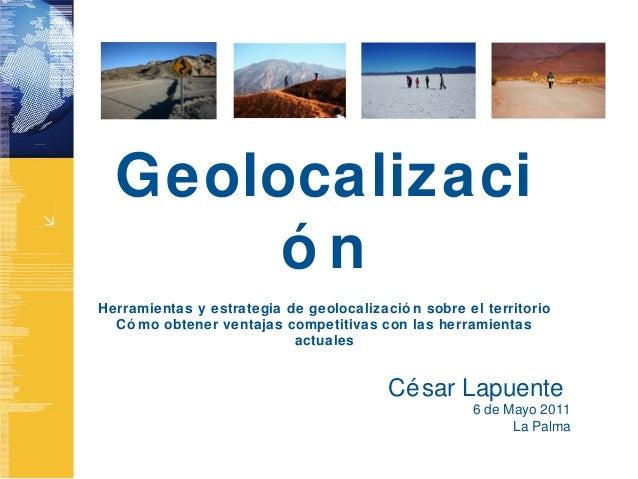 Geolocalización y movilidad