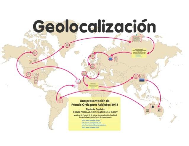 Geolocalizacion adejetec 2013