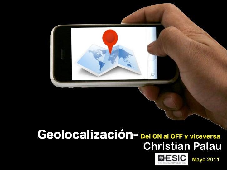 Geolocalizacion: del on al off