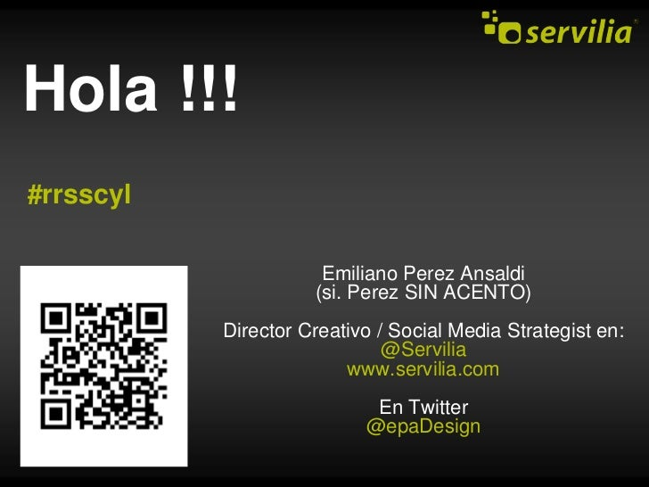 Geolocalización - Emiliano Perez Ansaldi en #rrsscyl