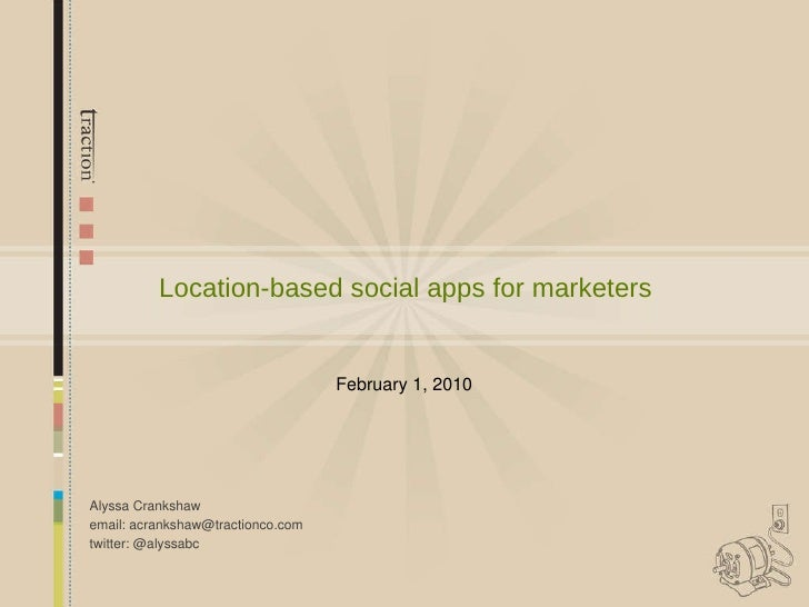 Location-based social apps for marketers
