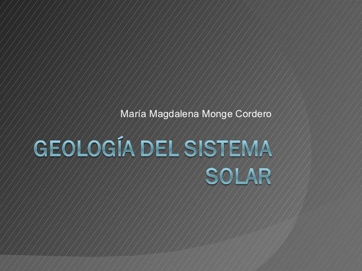 María Magdalena Monge Cordero