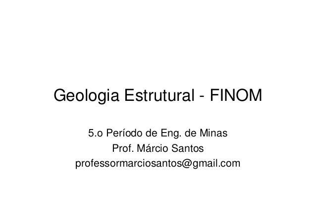 Geologia estrutural   foliações em rochas