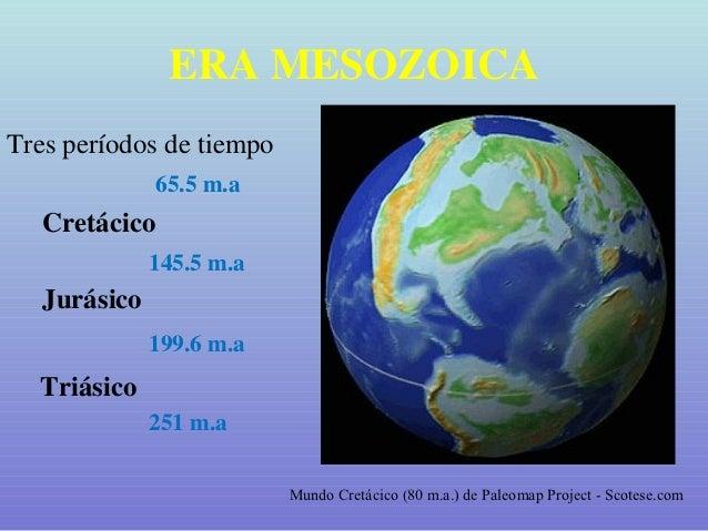Geologia historica mesozoico triasico jurasico-cretacico.