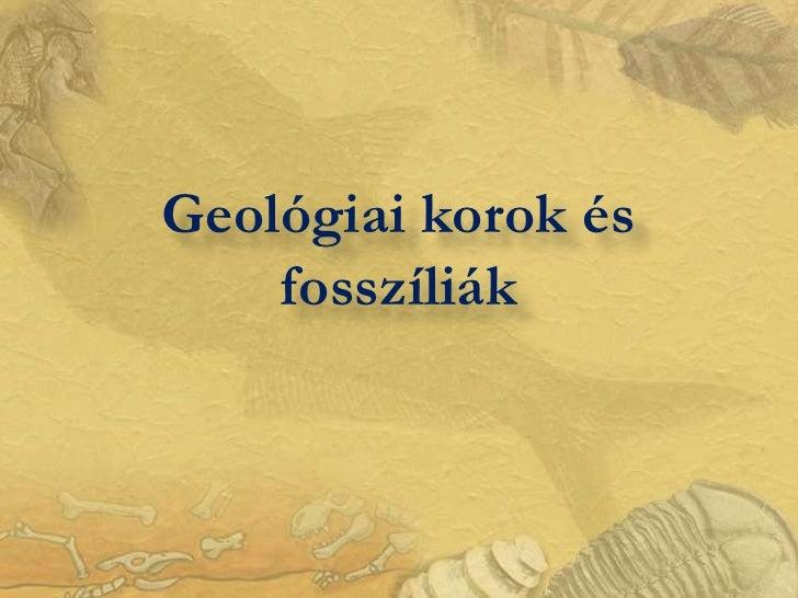 Geologiai korok