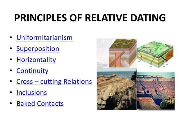 what is meant by the term relative dating