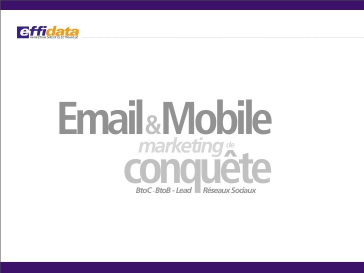 Geomail marketing Effidata