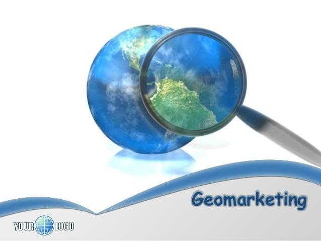 Geomarketing  2013