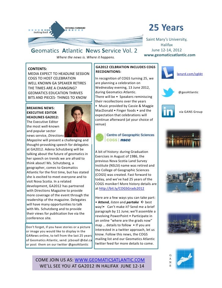 Geomatics News 2