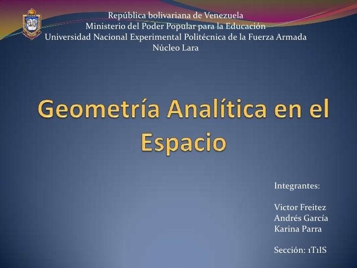 República bolivariana de Venezuela          Ministerio del Poder Popular para la EducaciónUniversidad Nacional Experimenta...