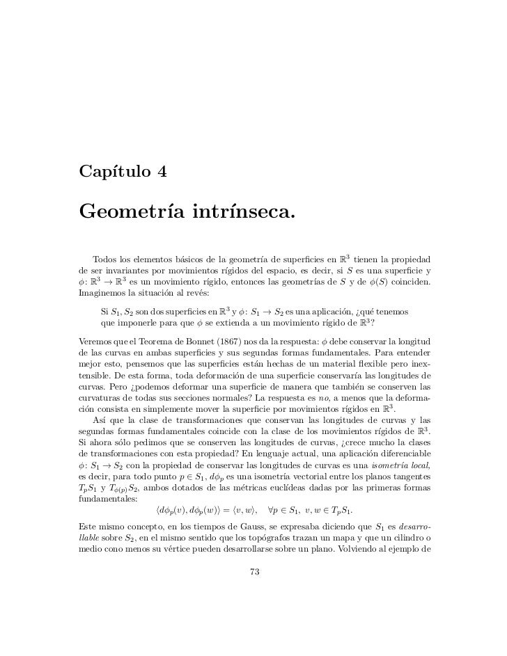 Geometría intrínseca (4)
