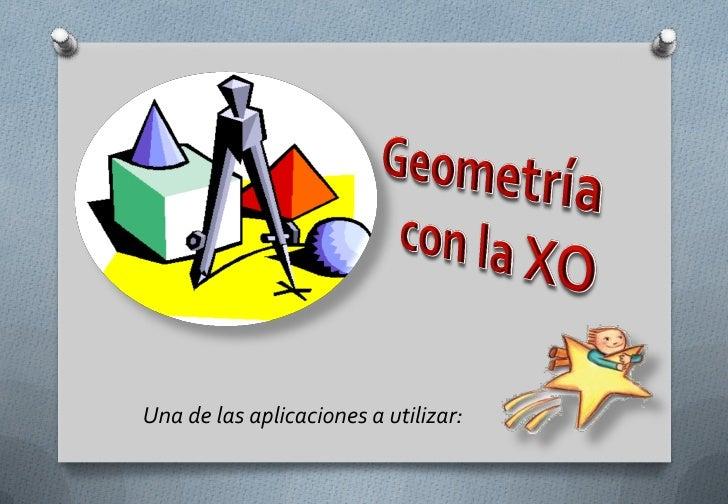 Geometría para el curso etoys