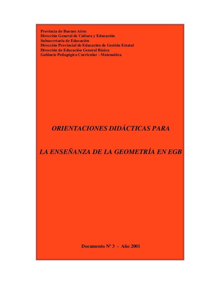 Provincia de Buenos AiresDirección General de Cultura y EducaciónSubsecretaría de EducaciónDirección Provincial de Educaci...