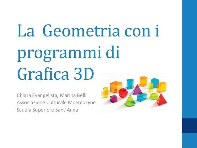 Geometria3d