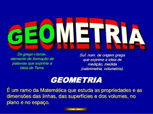Geometria 4º ano