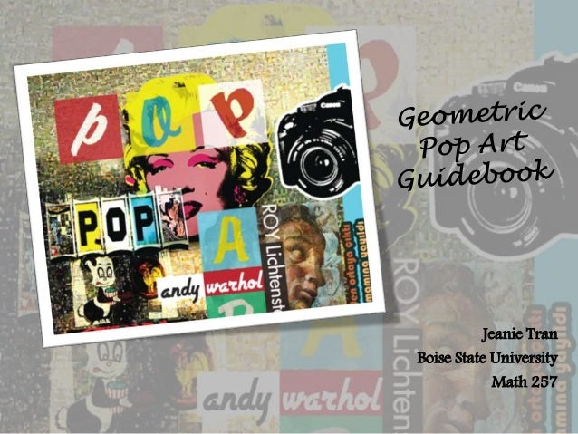 Geometric Pop Art Project-Guidebook