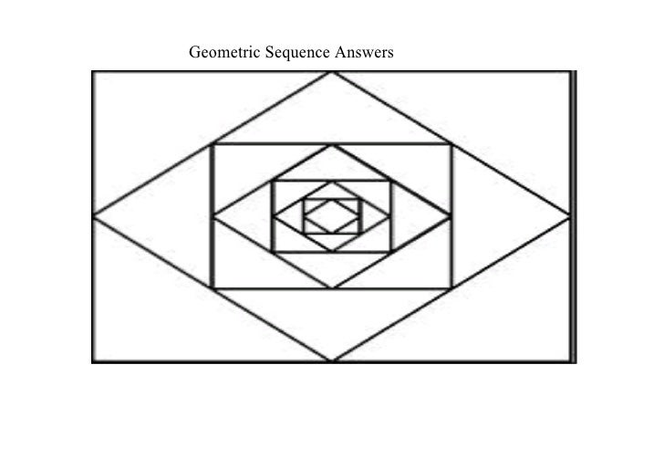 Geometric Sequence Answers
