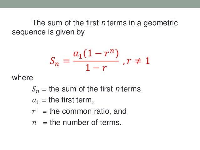 summation of infinite series pdf