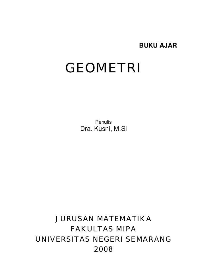 Geometri datar   dra. kusni- m.si