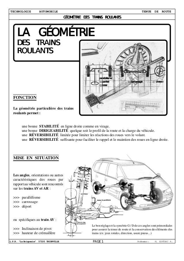 TECHNOLOGIE           AUTOMOBILE                                                                TENUE      DE    ROUTE    ...