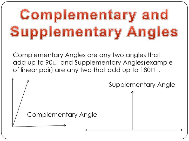 Supplementary Angle Geometry