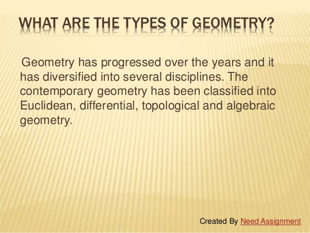 Geometry assignment