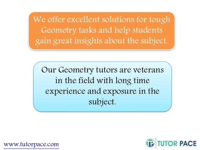 Online homework help geometry