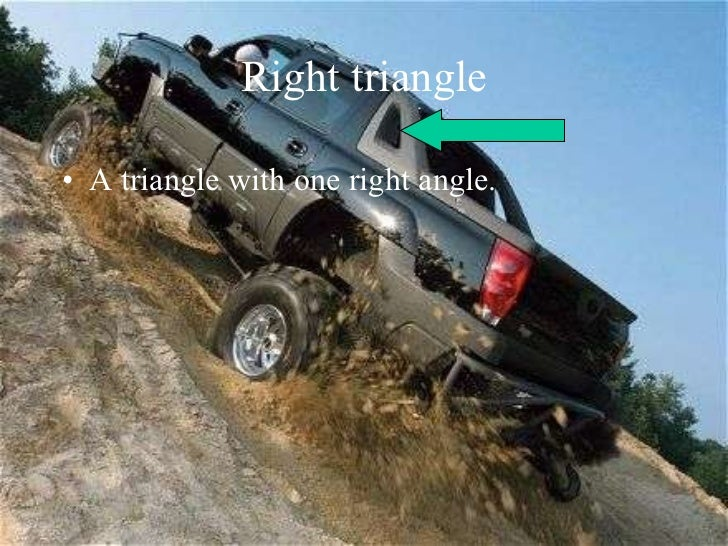Right Triangles in The World Right Triangle a