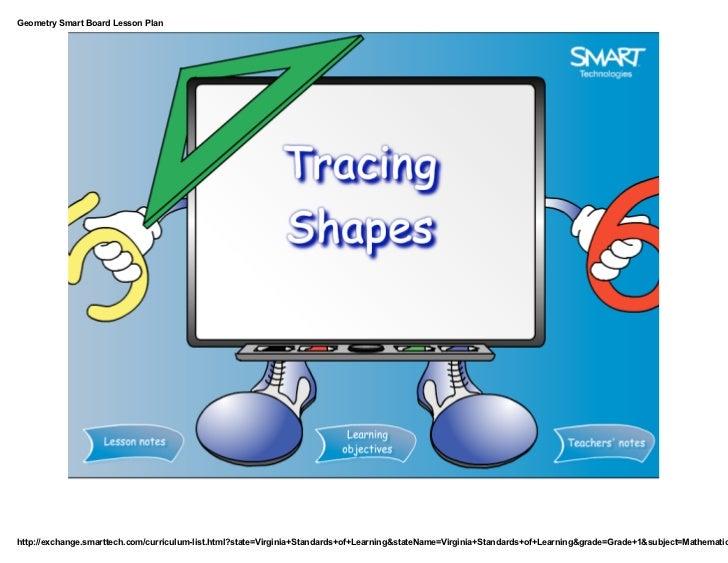 Geometry smart board lesson plan