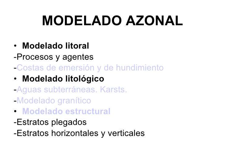 Geomorfologia 6 Modelado Azonal