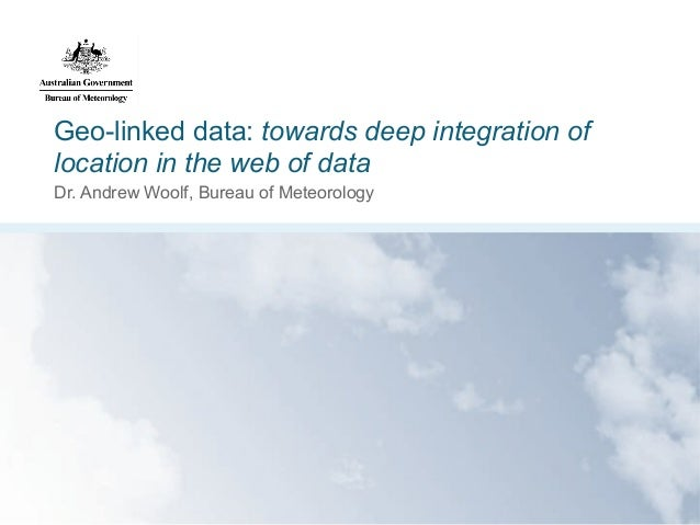 Geo-linked data: towards deep integration of location in the web of data