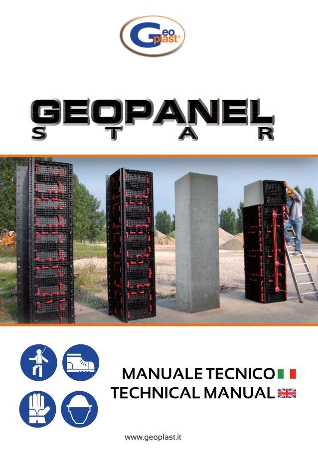 Geopanel star technical manual-COFRAJE REFOLOSIBILE AJUSTABILE PENTRU COLOANE RECTANGULARE