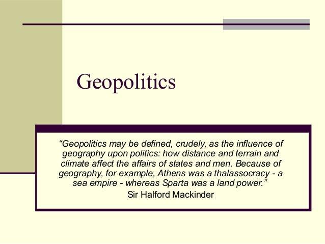Geopolitics Key