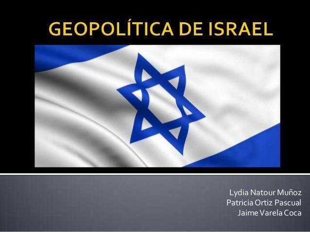 Geopolítica israel
