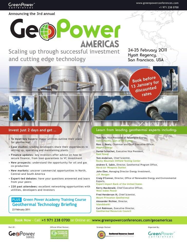 GeoPower Americas
