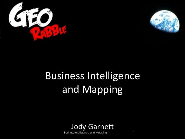 Business Intelligence and Mapping
