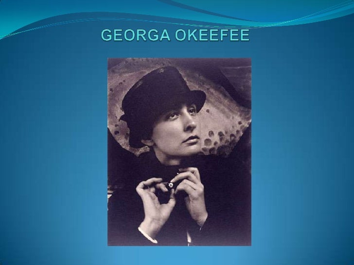 GEORGA OKEEFEE<br />
