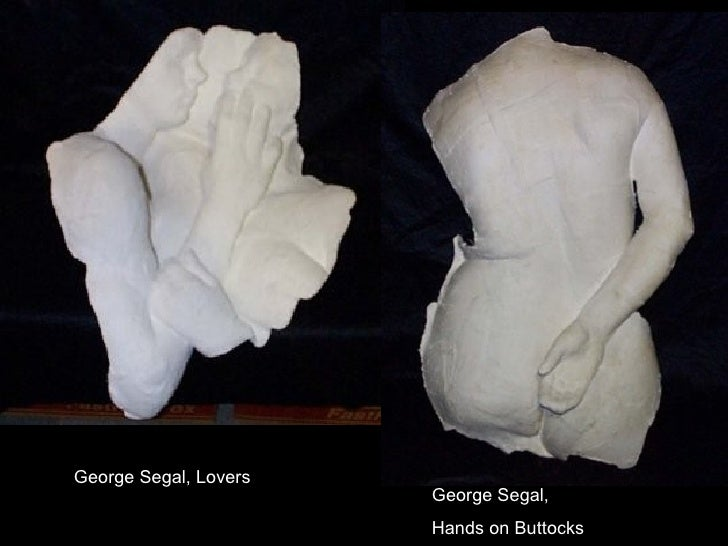 George Segal, Lovers George Segal,  Hands on Buttocks