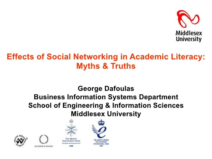 Effects of Social Networking in Academic Literacy