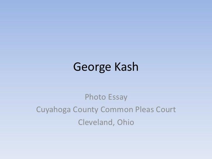 George kash photo essay