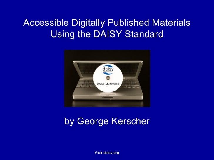 DAISY Multimedia