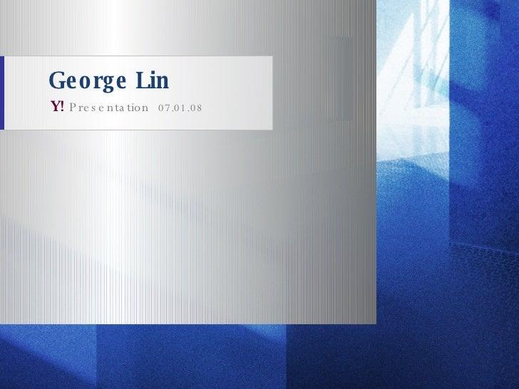 Georgelin Yahoo Final