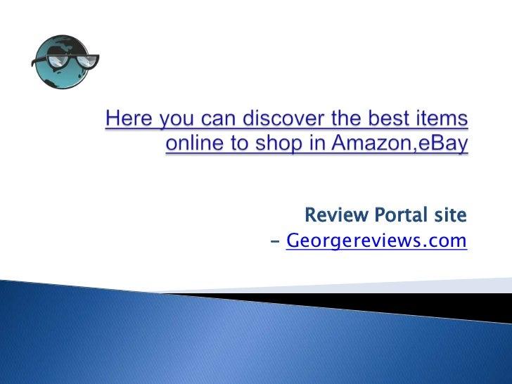 Review Portal site– Georgereviews.com