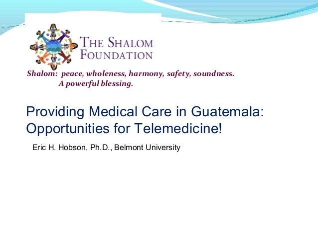 Georgia telemedicine 2014 meeting presentation (hobson)