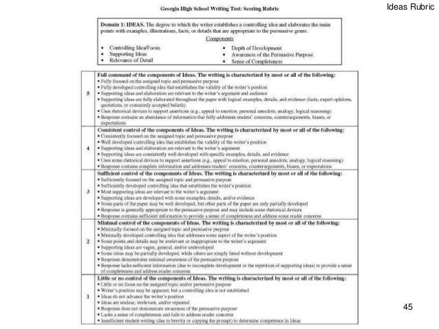 Ga 5th grade writing assessment