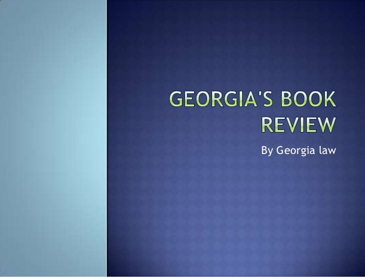 Georgias book review newly updated (1)