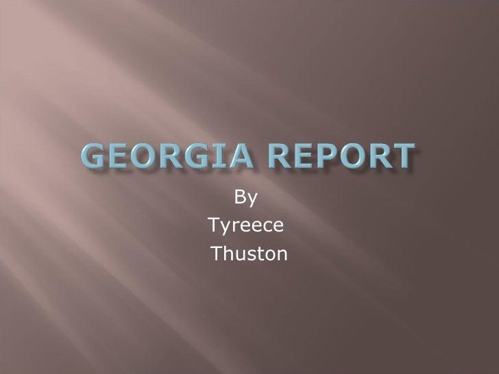 By  Tyreece  Thuston