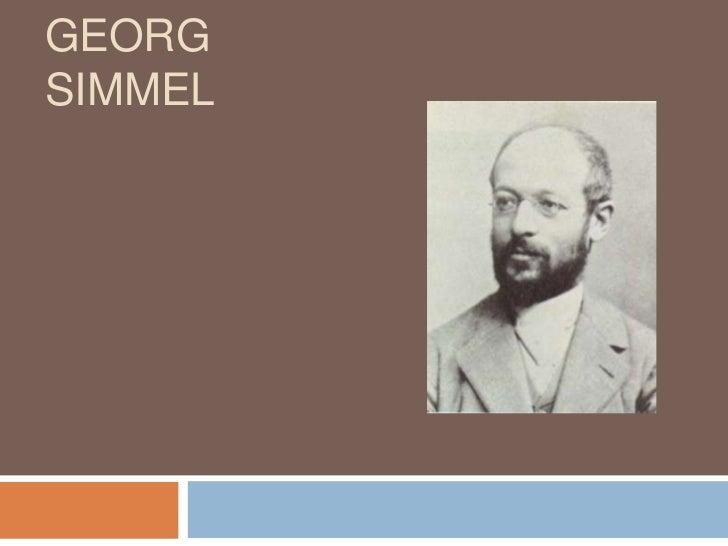 GEORGSIMMEL