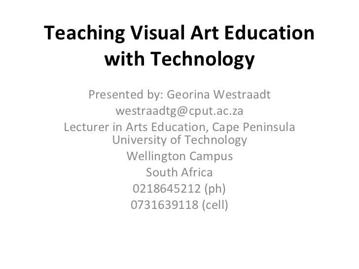 Visual Arts on Blackboard
